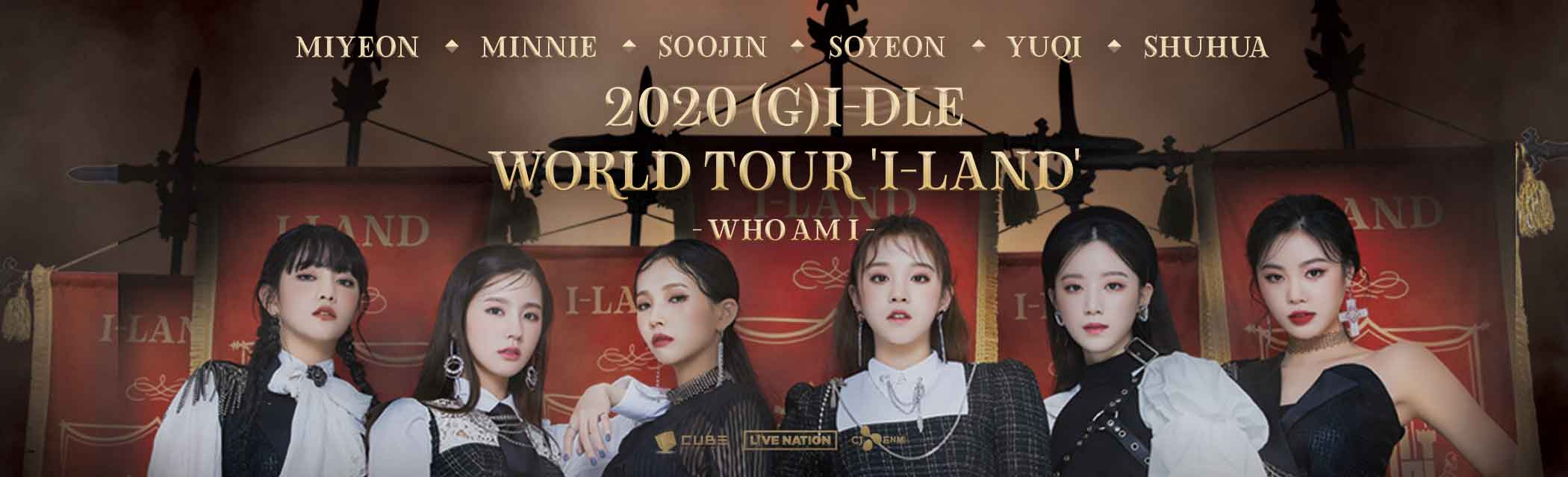 2020 WORLD TOUR 'I-LAND'