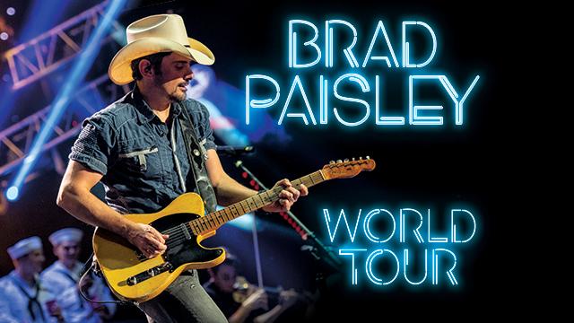 Brad Paisley World Tour 2020