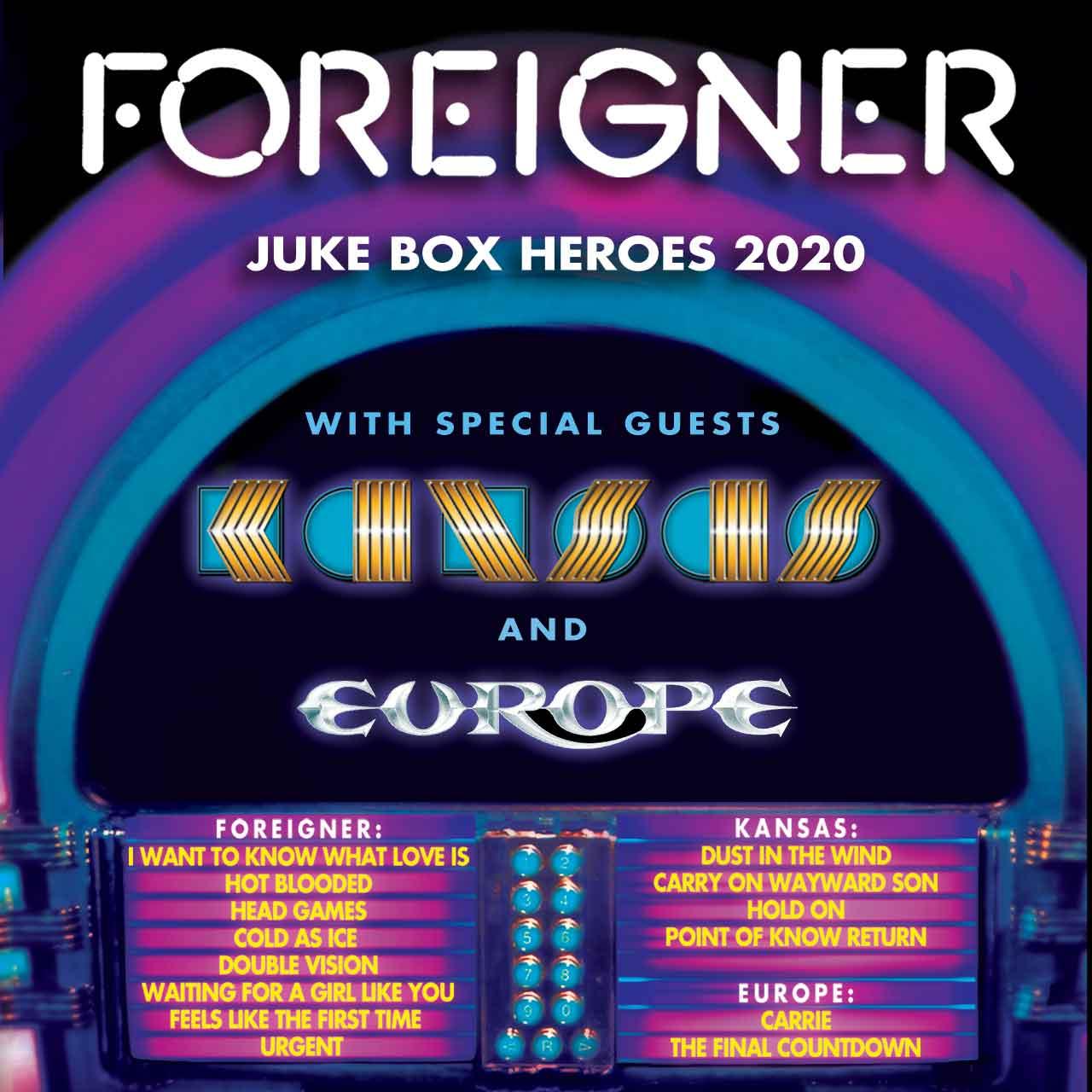 Juke Box Heroes Tour 2020