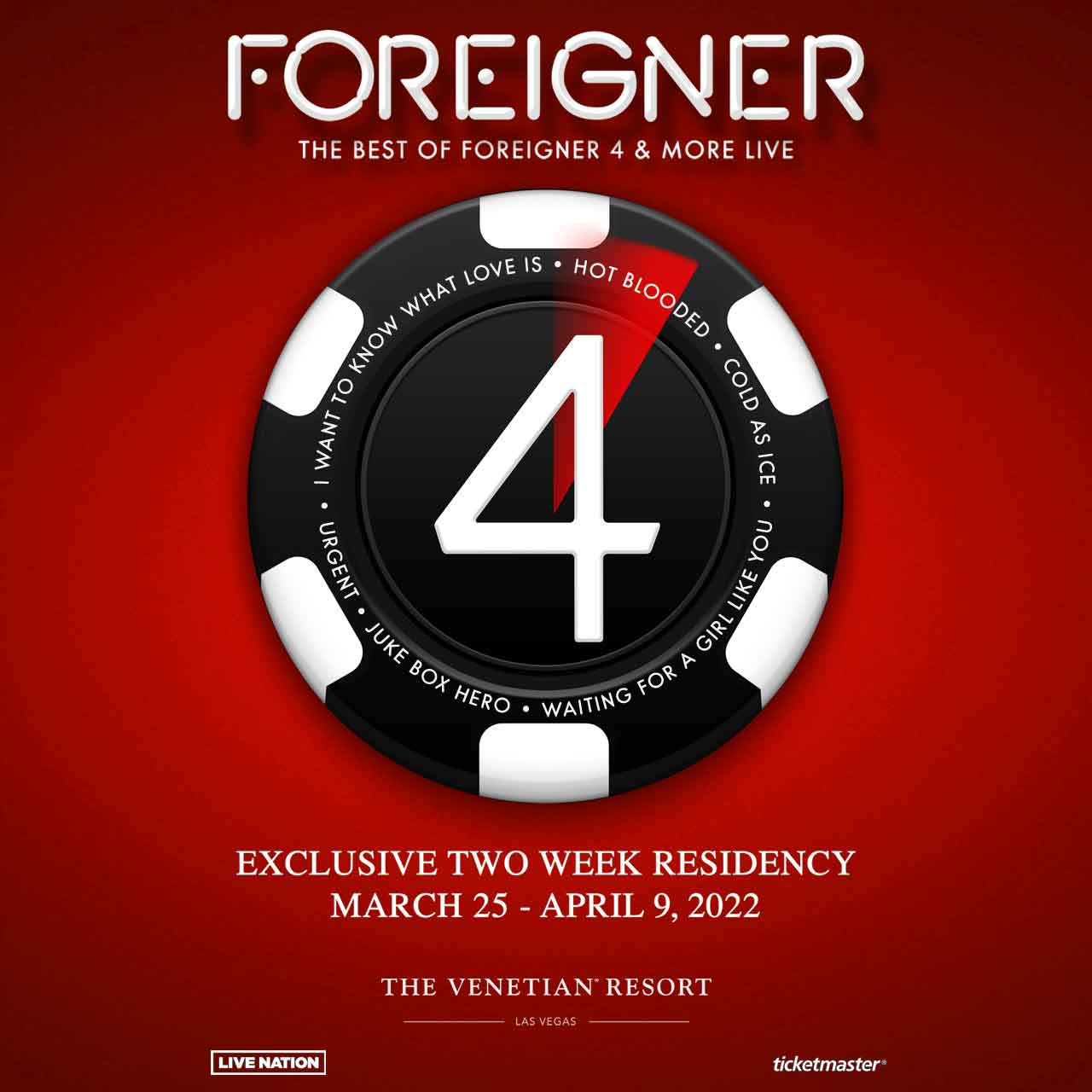 The Best of Foreigner 4 & More Live