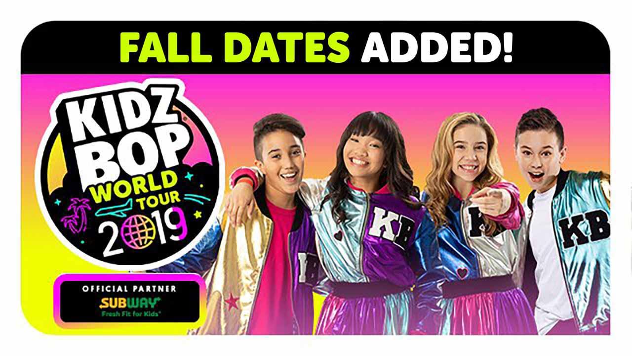 World Tour Fall 2019