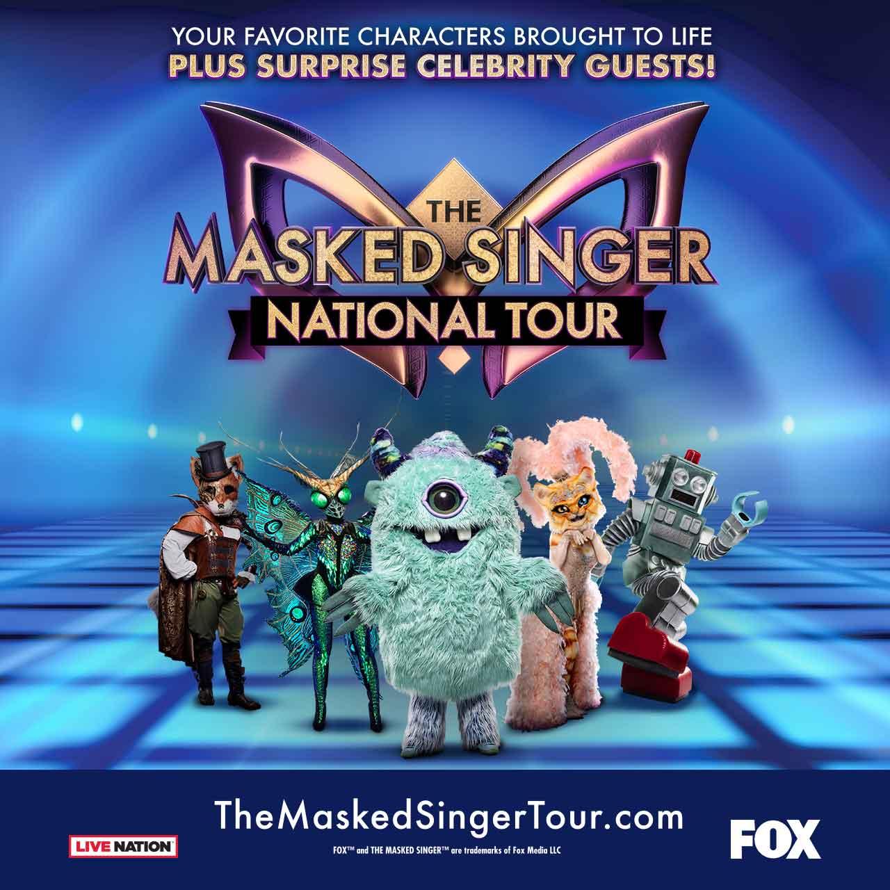 The Masked Singer Live