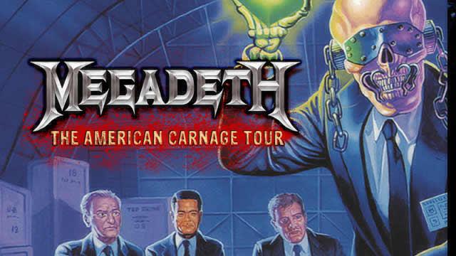 Megadeth Summer 2010