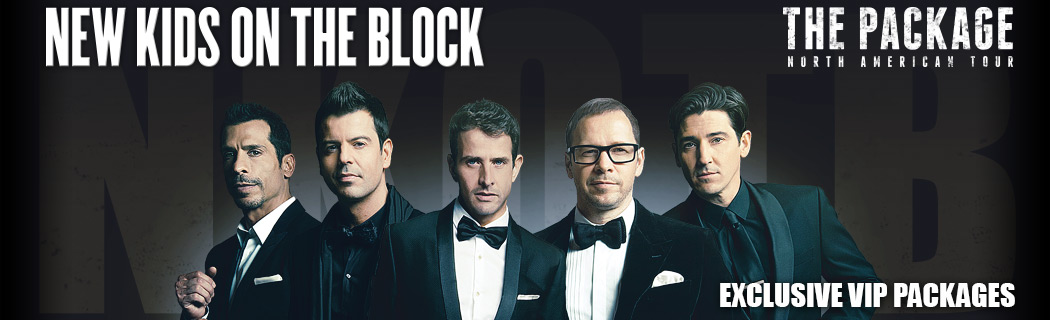 New Kids On The Block - The Package Tour