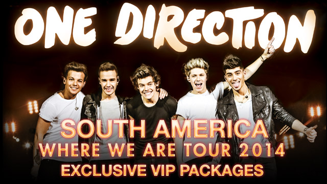 One Direction South America 2014