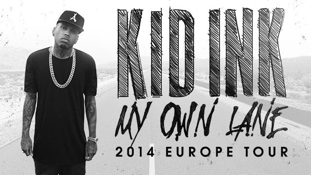 My Own Lane Tour - Europe