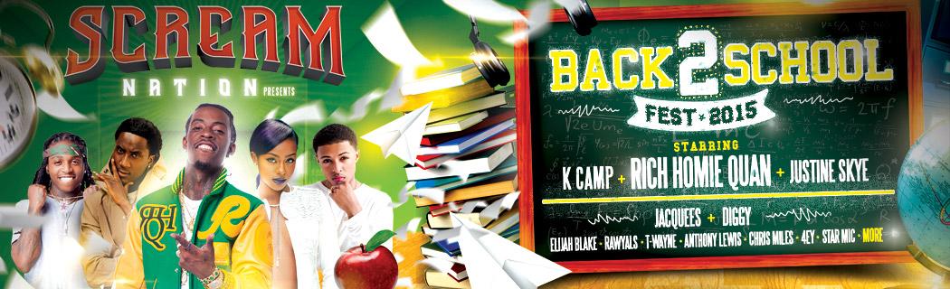 Back 2 School Fest 2015