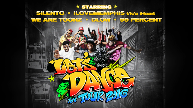 """Let's Dance - The Tour"" 2016 feat. Silento"