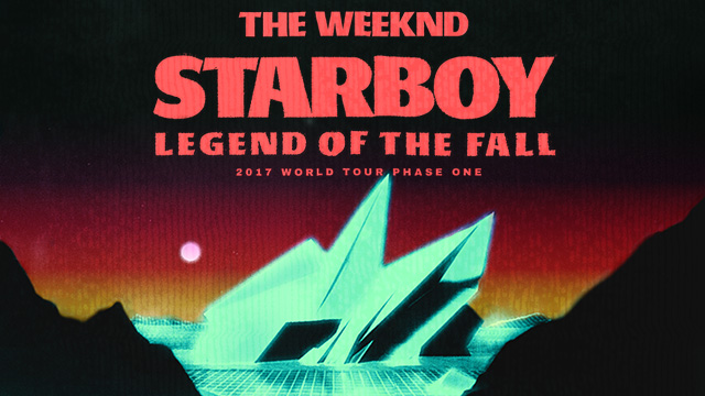Starboy: Legend of the Fall 2017 World Tour