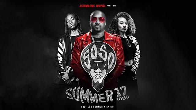 Jermaine Dupri Presents SoSoSummer 17 Tour