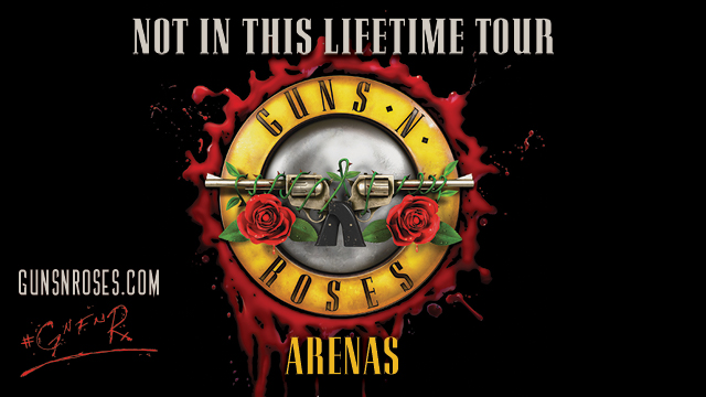 Not In This Lifetime Tour - Arenas