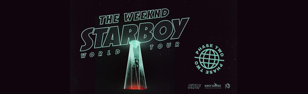 Starboy 2017 World Tour