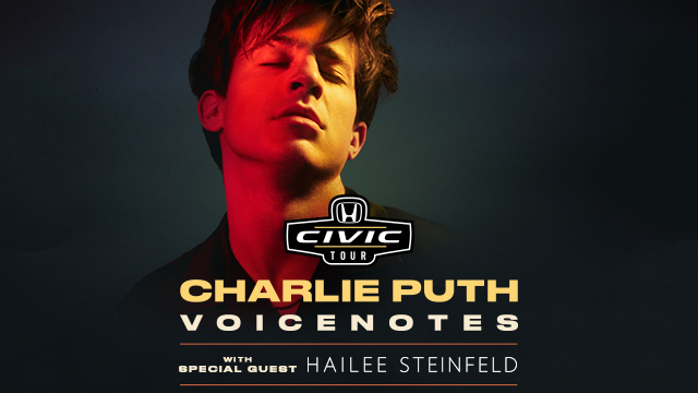 2018 Honda Civic Tour Presents Charlie Puth Voicenotes