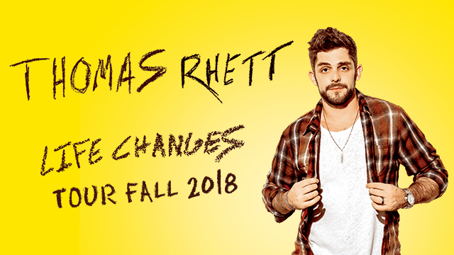 Life Changes Tour Fall 2018