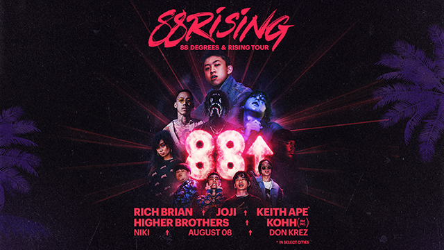 88 Degrees & Rising Tour