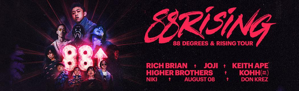 88 Degrees & Rising Tour