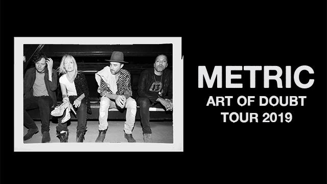 Art of Doubt Tour 2019