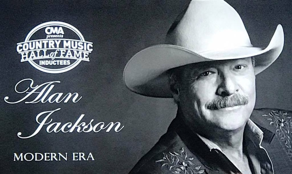 Alan Jackson Announced As Newest Member To The Country Music Hall