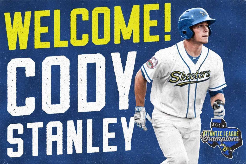 Skeeters Sign Former Major League Catcher Cody Stanley