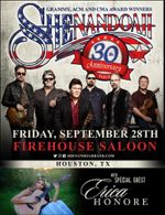 Opening for Shenandoah!  I am SO excited to open the show for Shenandoah at FIREHOUSE SALOON on September 28th. My set starts at 8pm.                   </div>                     <footer class=