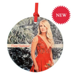 Red Dress Ceramic Ornament