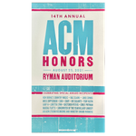 14th Annual ACM Honors Commemorative Hatch Show Print