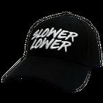 Black Ballcap- Slower Lower