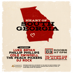 Luke Bryan, Phillip Phillips, Cole Swindell, The Peach Pickers and DJ Rock to Host Benefit Concert in Home State of Georgia