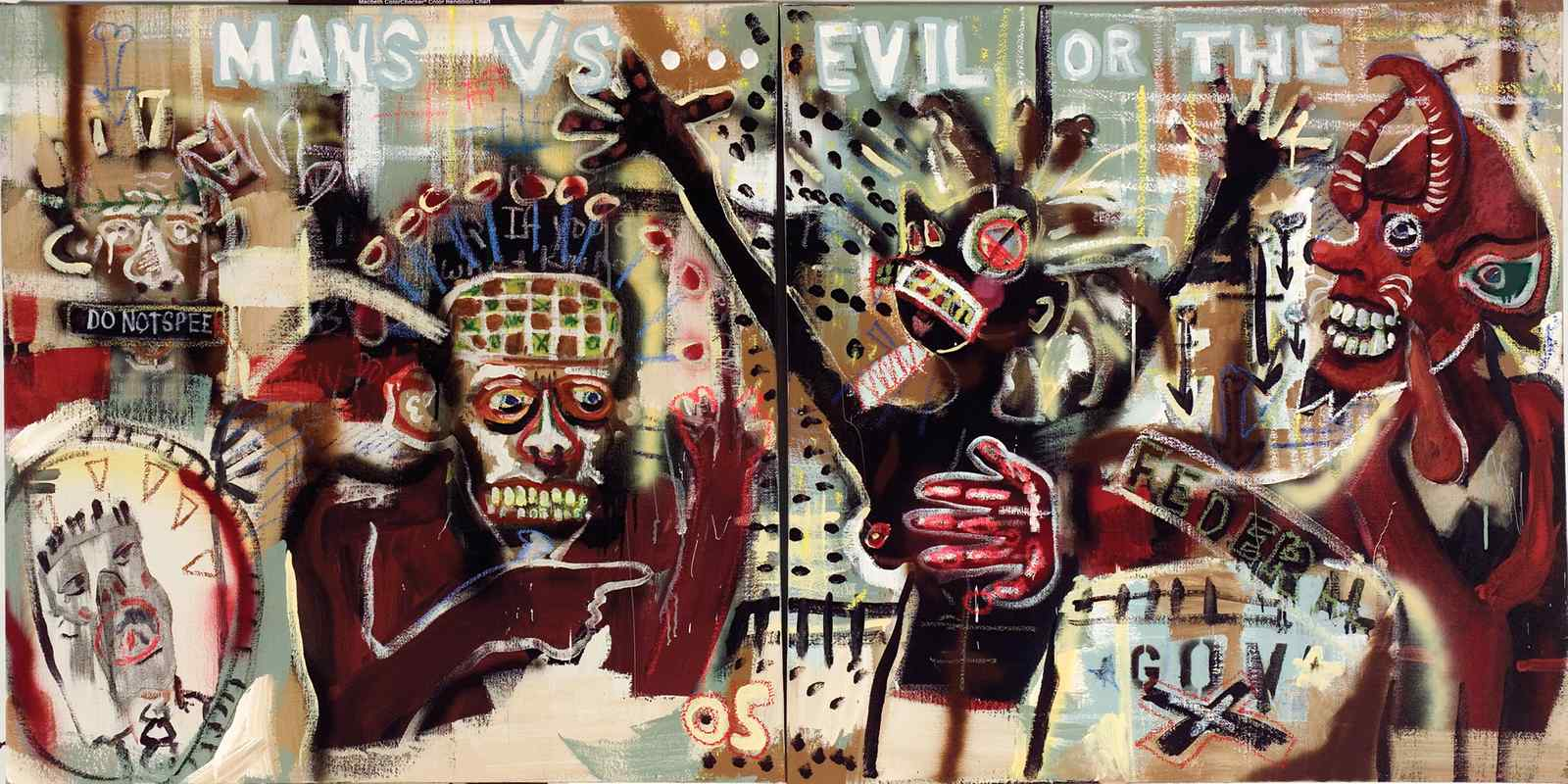 Man vs. Evil