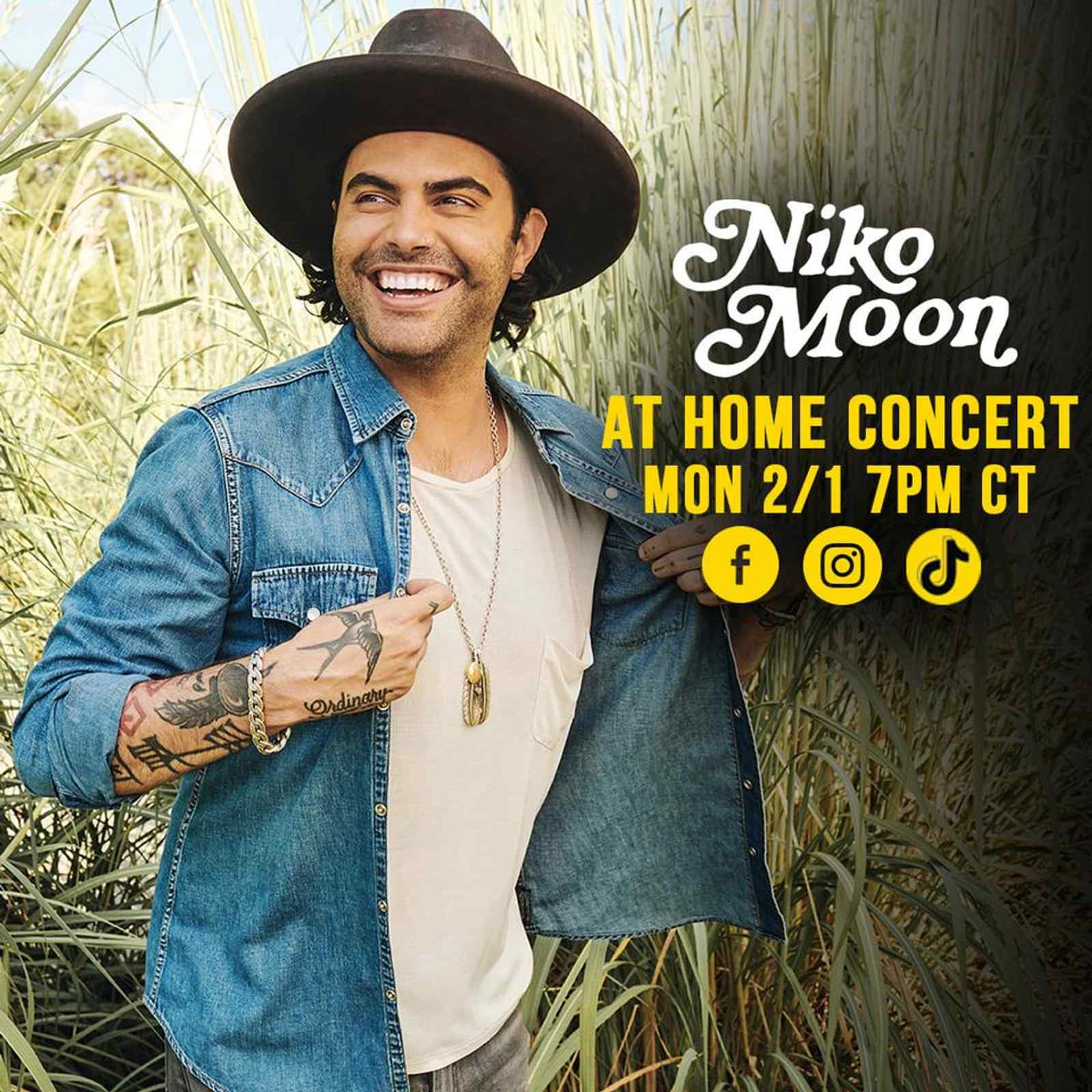 At Home Concert with Niko Moon