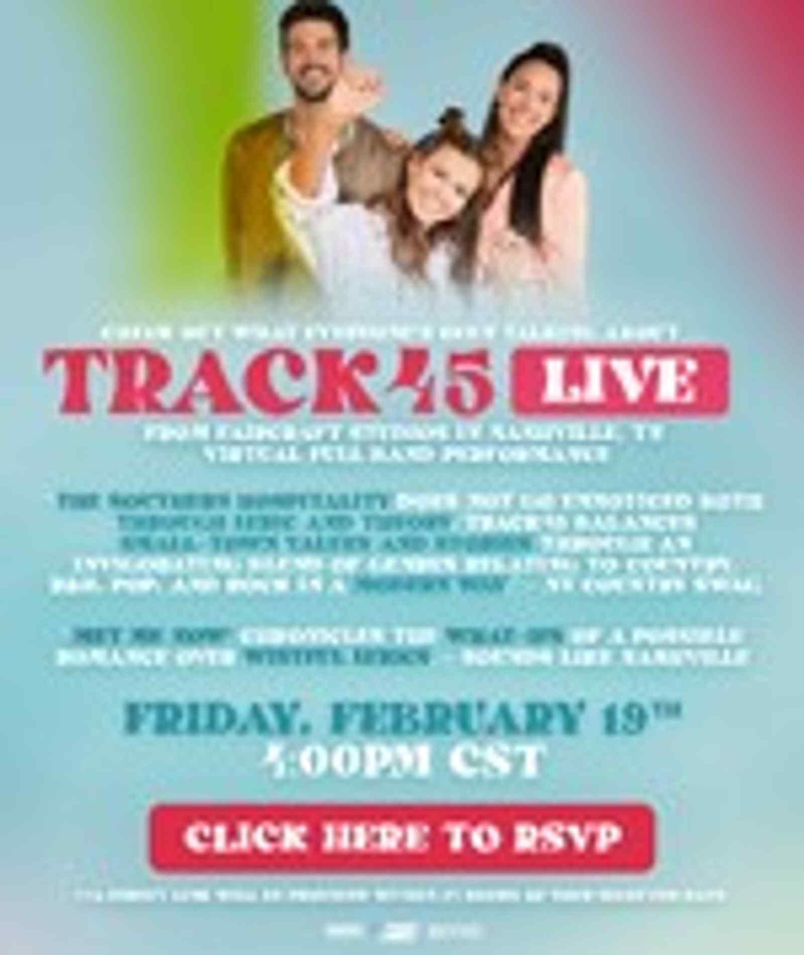 Live In Studio: Track45