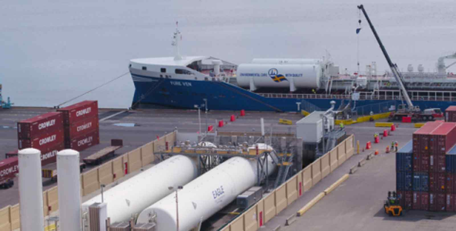 Key milestone achieved by Furetank, Eagle LNG and GAC during the refuelling of FURE VEN