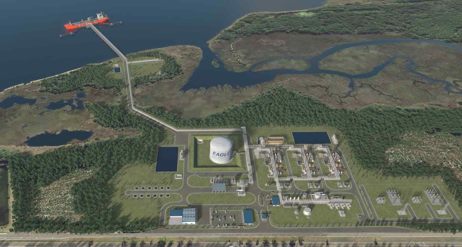 S&P Global Platts: US regulators give Eagle LNG positive final environmental review