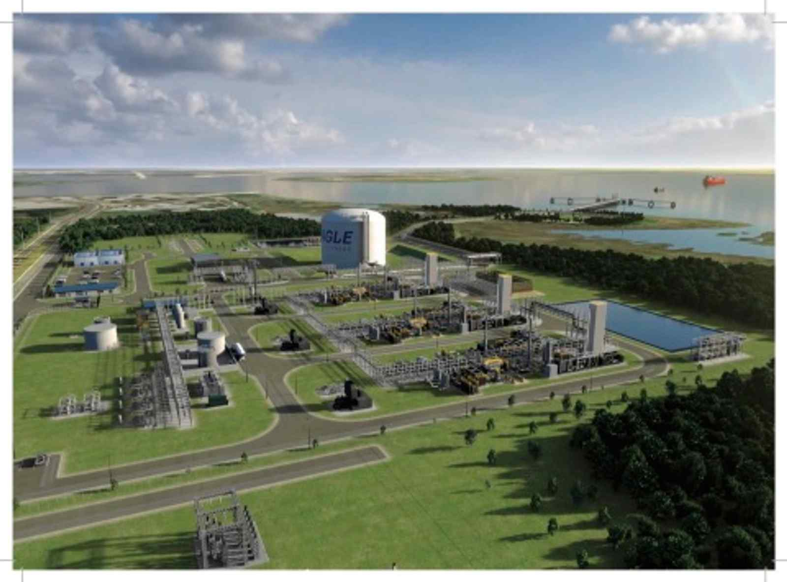 Eagle LNG selects Matrix Serice as EPC contractor to build Jacksonsville LNG export facility