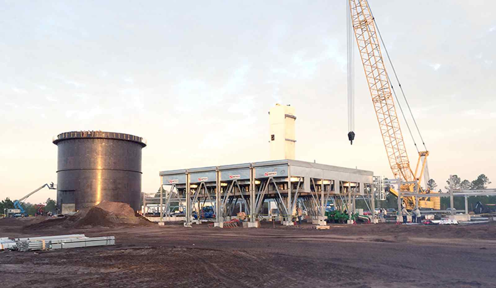 Go behind the scenes at the construction of Eagle LNG's new facility — and check out how LNG works