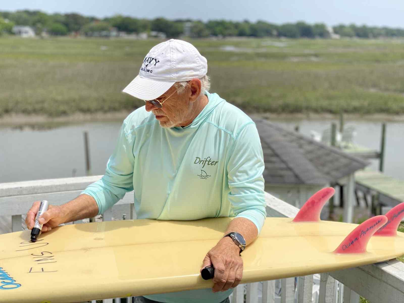 Autographed surf boards benefit Warrior Surf Foundation