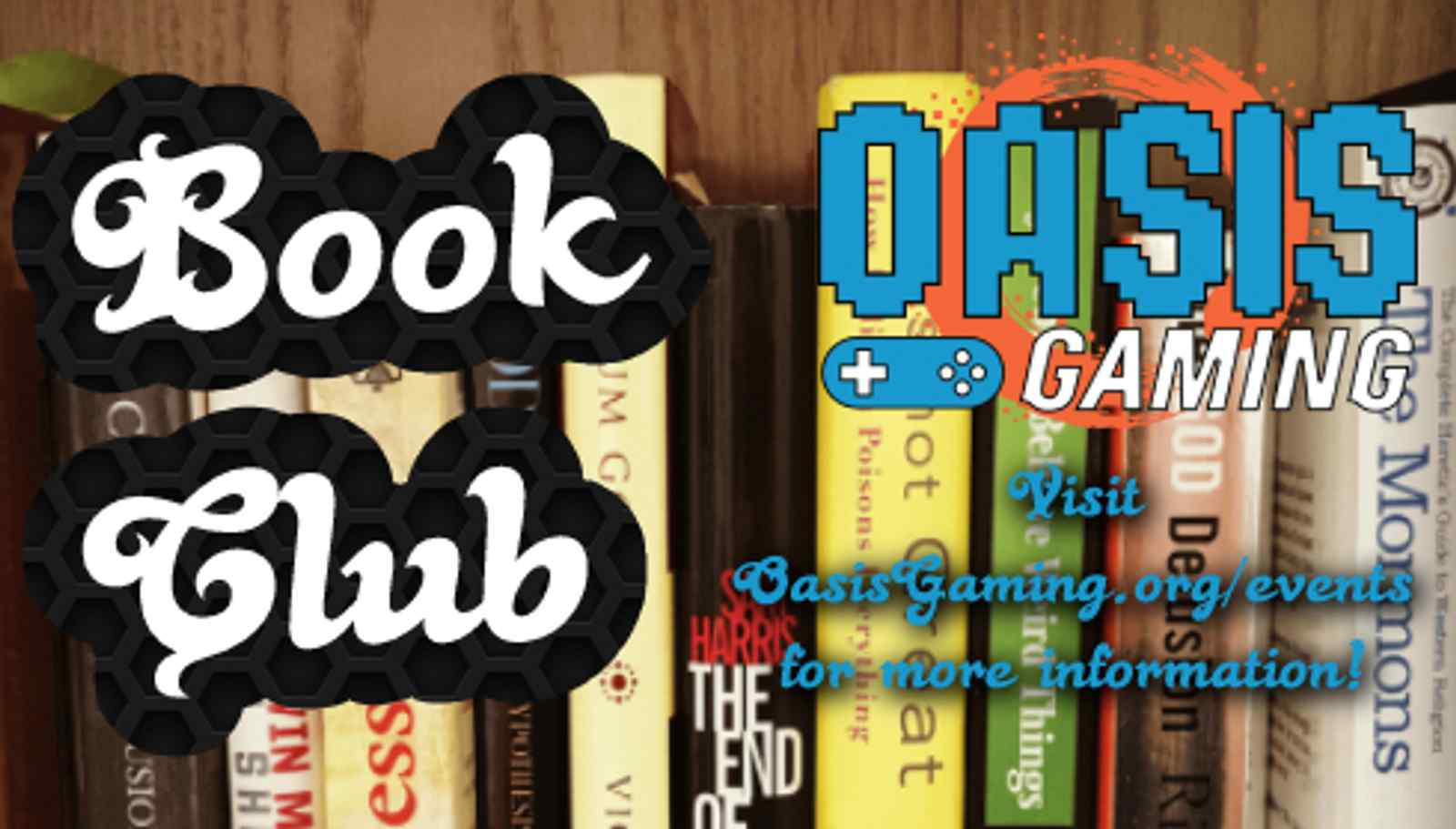 Oasis Gaming Book Club!