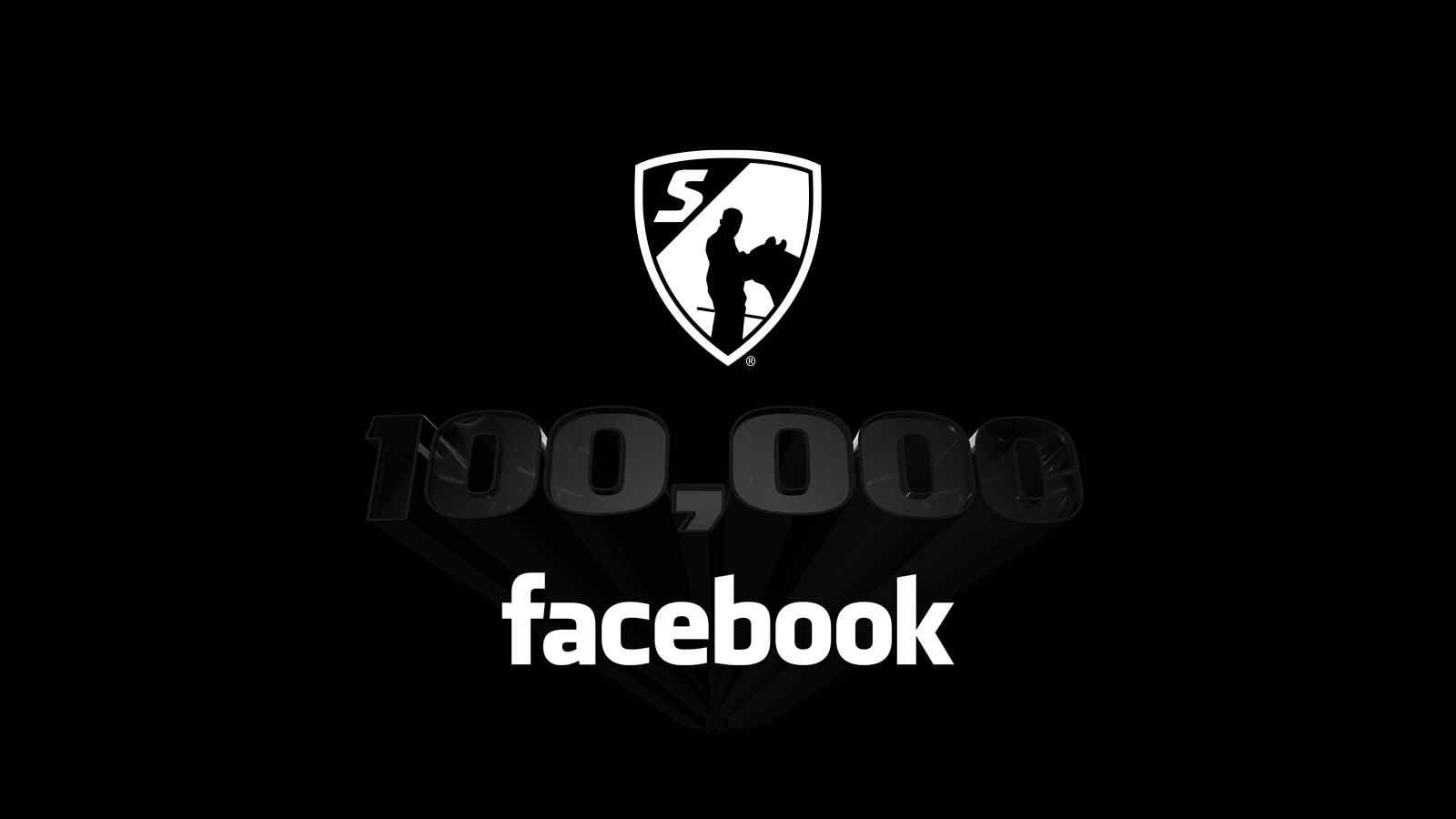 100,000 Facebook
