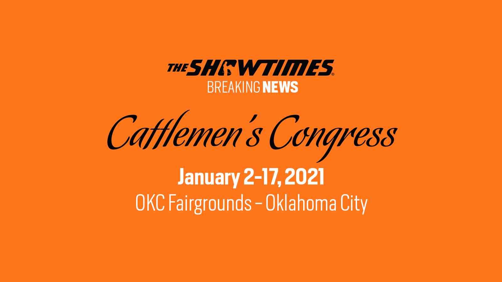 Cattlemen's Congress Denver Replacement Show
