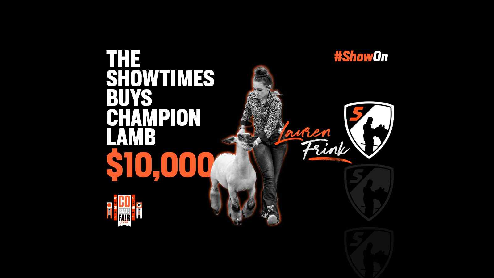The Showtimes Buys Champion Lamb in Pueblo!