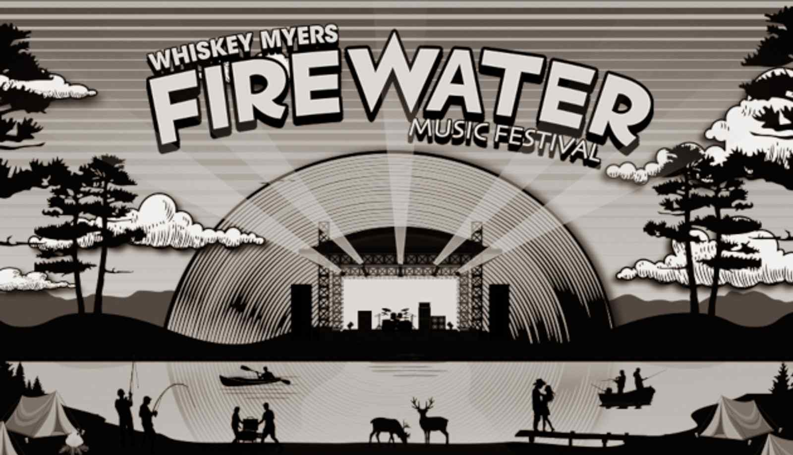Whiskey Myers Curated Firewater Festival Announces Lineup