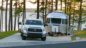 Truck with trailer RV Truck with trailer RV