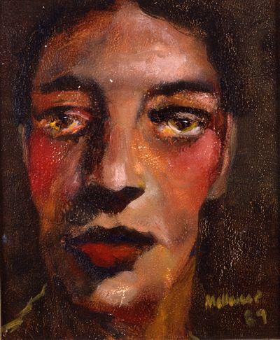 Close Up Self Portrait