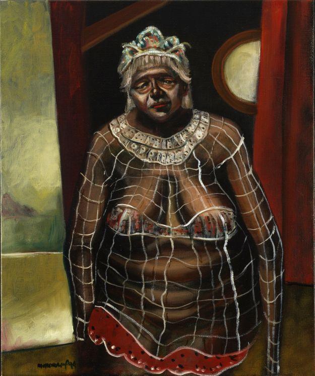 Clown Woman In Tiara