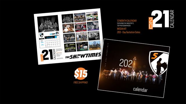 2021 Calendar You Are Showtimes