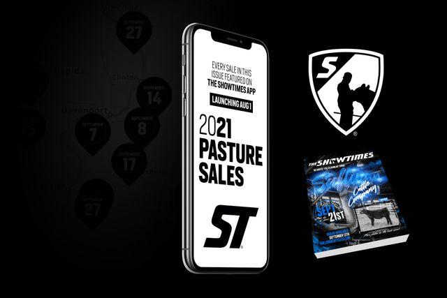 The Showtimes App 2021 Pasture Sales