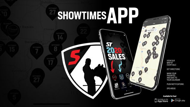The Showtimes App View Fall Sales